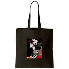 """""""Girl's Best Friend"""" Canvas Tote Bag by Dean Russo Art ~"""