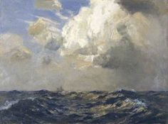Freshening Clouds - early 20th C.  by Albert Julius Olsson