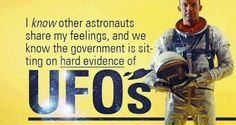 Were US Astronauts Ordered Not To Report UFOs & Aliens?   Alien UFO Sightings. That's astronaut Gordon Cooper in the photo who has publically testified to having UFO Sightings.