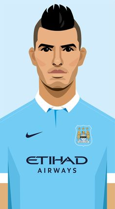 Manchester City and New York City fc asked me to create x8 illustrations of their players for use with their Chinese New Year messages on social media and gifts to fans