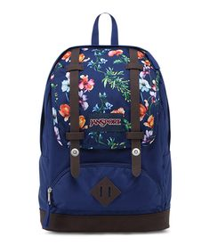 A backpack for your everyday adventures, the JanSport Cortlandt backpack combines style and functionality,