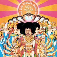 "The Jimi Hendrix Experience ""Bold As Love"" Album Cover Artwork ..."