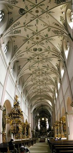 Michaelsberg abbey, Bamberg Germany This is were my parents were married.