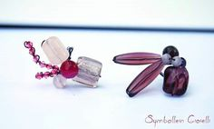 ring with quartz, agate, glass and crystal beads #ring