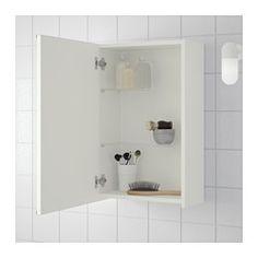 IKEA - LILLÅNGEN, Spiegelschrank - für Aufbewahrung im WC