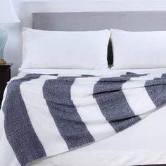 Shop for Berkshire Blanket Nautical Striped Woven Throw. Free Shipping on orders over $45 at Overstock.com - Your Online Blankets