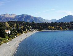 Playa bonita. Bariloche. Argentina