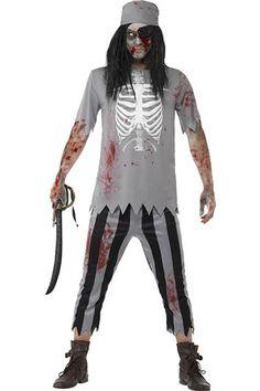 What's new @ www.sexyheksielingerie.com  Men's Zombie, Pir... Follow link http://sexyheksie.myshopify.com/products/4-in-1-mens-zombie-pirate-ghost-fancy-dress-halloween-costume-lb-l15462?utm_campaign=social_autopilot&utm_source=pin&utm_medium=pin