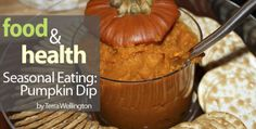 Pumpkin dip? Sounds like a delicious addition to appetizers this fall!
