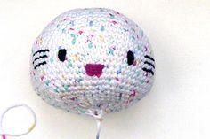 Häkeln: Hello Kitty Engel mit Herz * Teil 1 * Kopf                              …