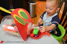 The Very Hungry Caterpillar Toddler & Preschool Games | A Little Pinch of Perfect