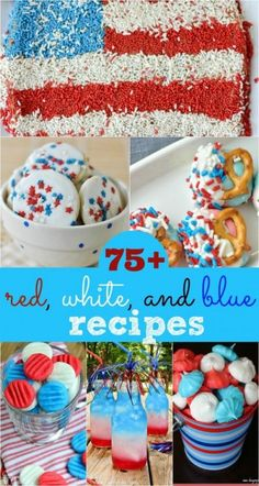 75+ Red, White and Blue - Shugary Sweets