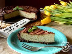 czyli o tym, że zdrowe jedzenie nie musi być nudne :): Miętowy sernik na czekoladowym spodzie