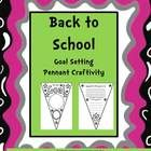 $1This is a goal setting activity designed for the beginning of the school year. To use, copy sheets front to back on cardstock and cut out. Students...