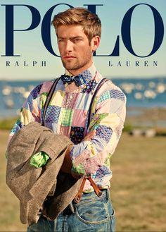 Arnaldo Anaya Lucca photographed Polo Ralph Lauren's Spring 2014 campaign. Capture by Versatile Studios.
