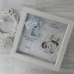 This handmade frame is the perfect gift for any little boy for a birthday or christening, or to welcome a new baby. A beautiful piece of nursery decor. That makes for a lovely keepsake. All words, details and decoration are customisable, so just let us know and we can write whatever