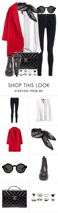 """Untitled #3349"" by hellomissapple ❤ liked on Polyvore featuring STELLA McCARTNEY, DKNY, Monki, Steve Madden, Chanel and bhalo"