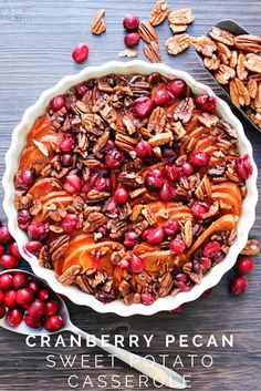 Cranberry Pecan Sweet Potato Casserole   Love Bakes Good Cakes