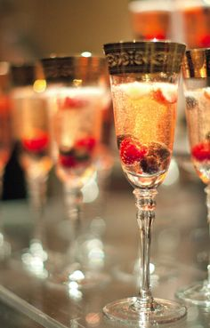 Give the classic champagne toast a delicious twist with this Champagne cocktail recipe from The Ritz-Carlton, Pentagon City.