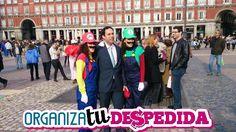 Original gymkana especial de Organizatudespedida para despedidas de soltera en Madrid.