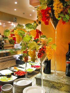 International Business Directory for Restaurants Buffet, Restaurants, Table Decorations, Madrid, France, Furniture, Home Decor, Company Dinner, Dinners