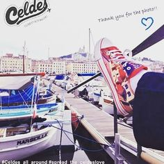 Our good friend send us this photo of her on the port of Marseille in France! Feel free to send us your with your celdes shoes! Twitter Twitter, Comfy Shoes, Happy People, Photo S, High Top Sneakers, Best Friends, Destinations, Celebrity, France