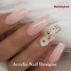 Nail art is a very popular trend these days and every woman you meet seems to have beautiful nails. It used to be that women would just go get a manicure or pedicure to get their nails trimmed and shaped with just a few coats of plain nail polish. Coffin Nails Long, Long Nails, Coffin Nails 2018, Long Cute Nails, Coffin Nails Glitter, Pink Coffin, Gorgeous Nails, Pretty Nails, Amazing Nails