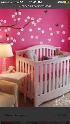 Pink And White Room For Your Baby Girl. And, Donu0027t Forget To