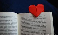 Serce origami - zakładka do książki  #lubietworzyc #DIY #handmade #howto  #instruction #instrukcja #jakzrobic #krokpokroku #serce #origami #zakladkadoksiazki #walentynki #heart #origamiheart #origamibookmark #bookmark #valentinesday