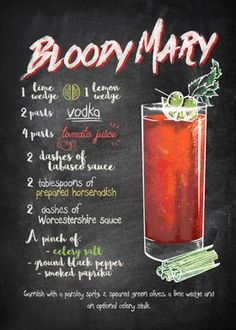 Liquor Drinks, Cocktail Drinks, Cocktail Recipes, Beverages, Party Drinks, Gin, Bloody Mary Recipes, Best Bloody Mary Recipe, Catering