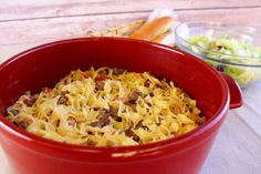Wicked Beef: Looking for an easy ground beef recipe? We've got the perfect weeknight dinner casserole for you! Easy Beef And Noodles Recipe, Quick Ground Beef Recipes, Beef Casserole Recipes, Ground Beef Casserole, Hamburger Recipes, Hotdish Recipes, Hamburger Dishes, Cabbage Casserole, Noodle Casserole