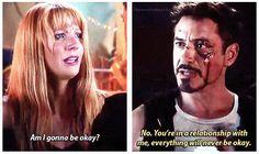 Iron Man 3. Everything will never be okay.