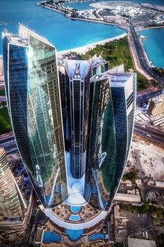 Conceived as commercial buildings, Etihad Towers have now made their place in the top attractions of UAE.