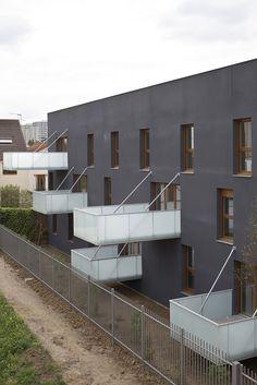 52 Social Housing Units in Nanterre / Colboc Franzen & Associés
