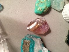#amazonite #ametrine #turquoise #crystals http://v2Crystals.com