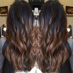 Hair highlights for indian skin tone dark brown 56 best ideas Hair highlights for indian skin tone dark brown 56 best ideas Ombre Hair Color, Hair Color Balayage, Brown Hair Colors, Dark Balayage, Partial Balayage, Hair Colour, Onbre Hair, New Hair, Curly Hair