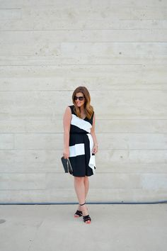 Ali & Jay Color blocked cinch waist dress. Sophia Webster heels, Coach clutch, chicago fashion blogger, nordstrom giveaway, maps by a. jaffe, July 4th sales + $600 nordstrom giveaway, nordstrom dress