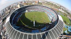 El estadio de Racing, el último campeón argentino.