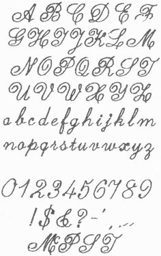 Calligraphy Tattoo Fonts File Name Affolter 1981