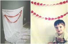 The...Late, Young Family: Mini Photo Booth Idea for Valentine's Day Pictures