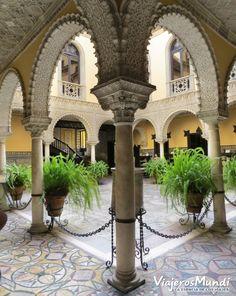 El hermoso #patio de la Casa #Palacio de la Condesa de Lebrija, #Sevilla