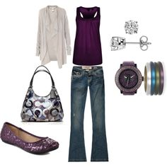 Purple :), created by aseal329.polyvore.com