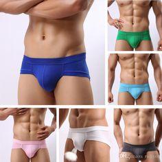 Sexy fashion brand Modal U convex men's underwear briefs male modal sexy panties briefs free shipping