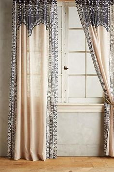 Anthropologie Cordelia Curtain