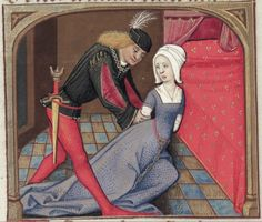 [folio 061v] MS. Douce 195 (Le roman de la rose) Robinet Testard  http://romandelarose.org/#browse;Douce195
