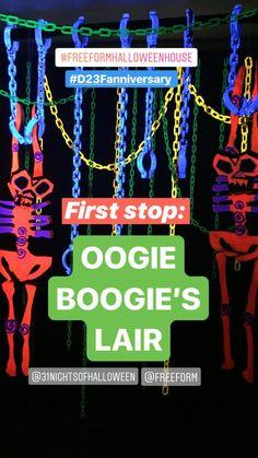 Oogie Boogie's Lair Samhain Halloween, Halloween Hats, Homemade Halloween, Halloween 2019, Halloween Party Decor, Halloween Stuff, Halloween Ideas, Nightmare Before Christmas Decorations, Nightmare Before Christmas Halloween