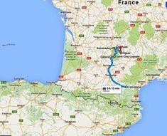 Ruta en coche por los pueblos más bonitos del sur de Francia en la región de Midi-Pyrénées. Actividades para niños.