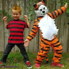 Calvin and Hobbes Costume - Halloween Costume Contest via @costume_works