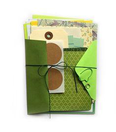 Scrapbook kit journal kit to embellish and by makingthishome, $10.00