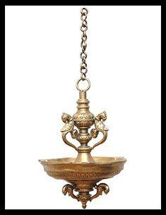 Hanging Peacock Deepa (lamp)